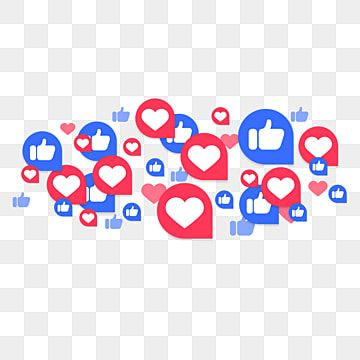 Like On Social Media Likes To Follow Tag Elements Love Icon Facebook Png Transparent Clipart Image And Psd File For Free Download Social Media Social Media Icons Social Media Art