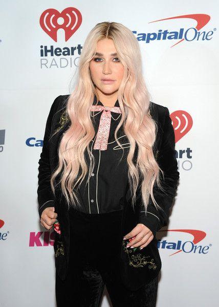 Kesha attends 103.5 KISS FM's Jingle Ball 2017.