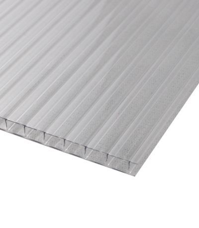 8mm Policarb 2 Walls Clear In 2020 Polycarbonate Panels Wall Easy Projects