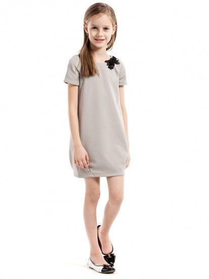 12291f9b247b Dječja haljina dugih rukava KIDIN - svijetlo plava