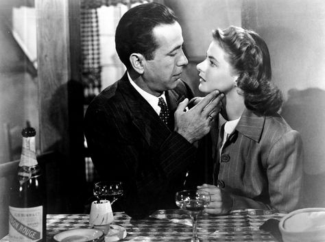 Favorite the-cause-is-bigger-than-we-are film: Casablanca 1942