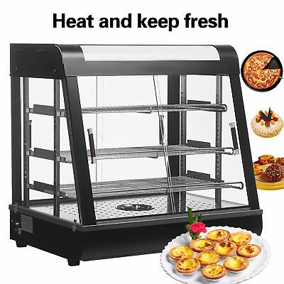 Ad Ebay Url Food Heated Display Case 3 Tiers Commercial Pizza Warmer Cabinet Countertop Usa Pizza Display Food Warmers Food Warmer Display