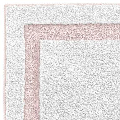 Mdesign Microfiber Bath Mat Non Slip Bathroom Rug White Light