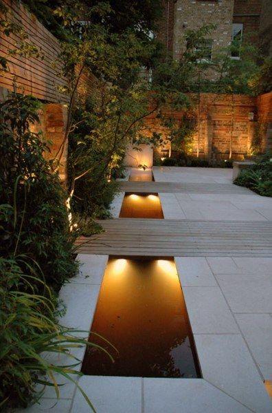 Top 50 Best Backyard Pond Ideas Outdoor Water Feature Designs Water Features In The Garden Contemporary Garden Design Modern Garden