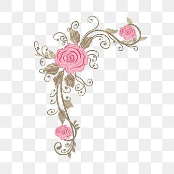 Elegant Wedding Flower Decoration Ornament Bunga Rancangan Menanam Png Transparent Image And Clipart For Free Download In 2021 Wedding Invitation Vector Ornament Vector Pink Watercolor Flower