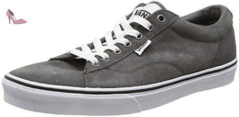 W Winston, Baskets mode mixte adulte - Gris (Charcoal Grey/White), 36.5 EUVans