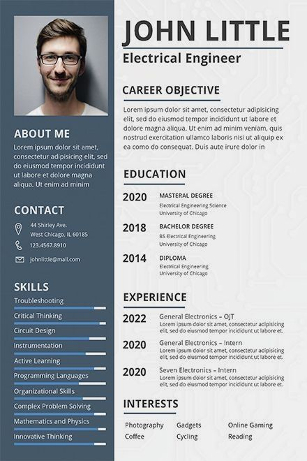 Download This Free Resume Template For For Entry Level Or Professional Software Engineer Applications Easy To Edit With Hig Desain Cv Cv Kreatif Riwayat Hidup