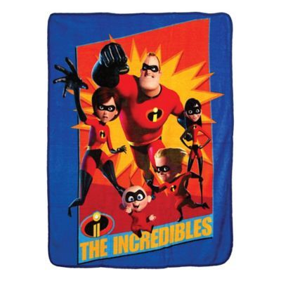 The Incredibles 2 Family Heroes Micro Throw Blanket 46/'/' x 60/'/' Northwest