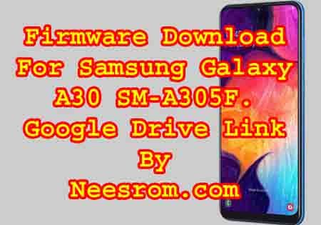Samsung SM-A305F firmware Rom Flash File from the direct