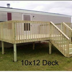 Ready Deck Gallery Ready Decks In 2020 Mobile Home Landscaping Mobile Home Porch Mobile Home Deck