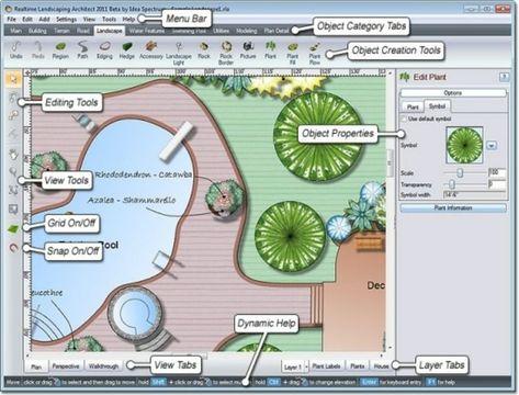 Online Gartenplaner Fur Eine Individuelle Gestaltung Des Aubenbereichs In 2020 Garten Planen Garten Software Kostenlos