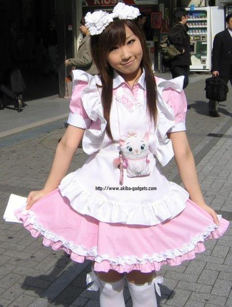 Japanese Maid cafe girls   Tin figure scale 135