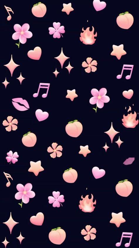 Wallpaper Iphone Cute Tumblr Stickers 52 Ideas Cute Emoji