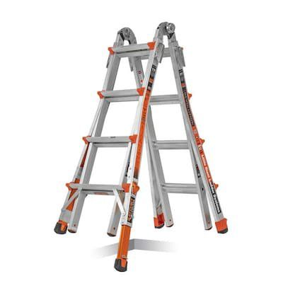 Little Giant Revolution M17 Aluminum Articulating Ladder With