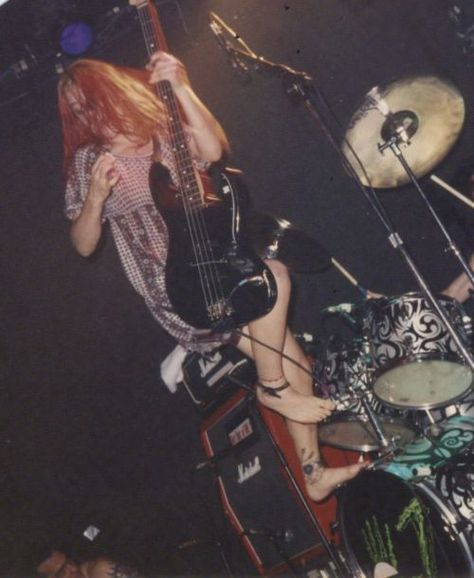 Another shot of L7 from the early-90's at the old 9:30 Club in DC.