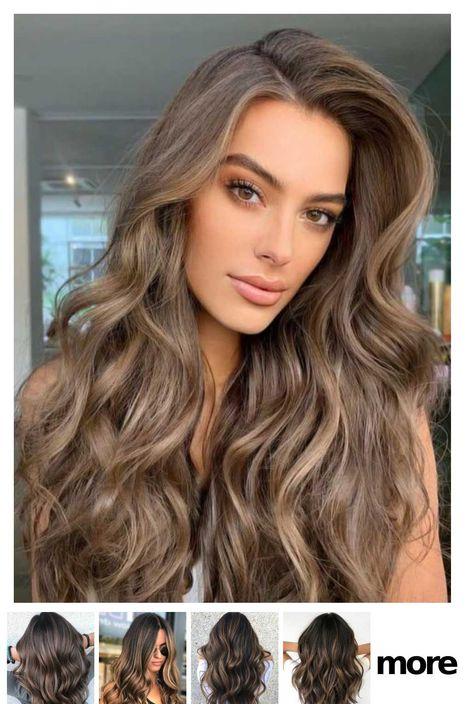 Haare färben braune dunkelblond Haare braun