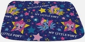 Mlp Stars Bath Mat My Little Pony Little Pony Pony