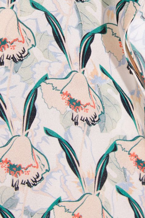 Mother of Pearl | Printed silk-crepe shirt | NET-A-PORTER.COM