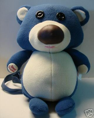 OPEN SEASON TEDDY BEAR MOVIE PROMO PLUSH BACKPACK SONY