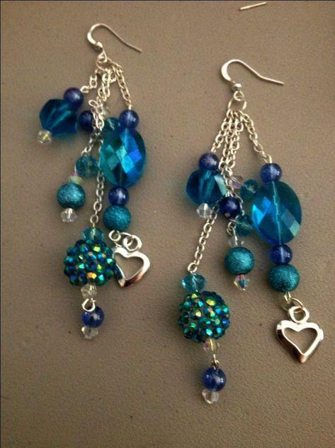 How To make Pretty Crimp Bead Earrings