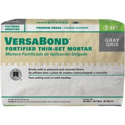 Details About Custom Building Products Versabond Fortified Thin Set Mortar Mortar Custom Sealant