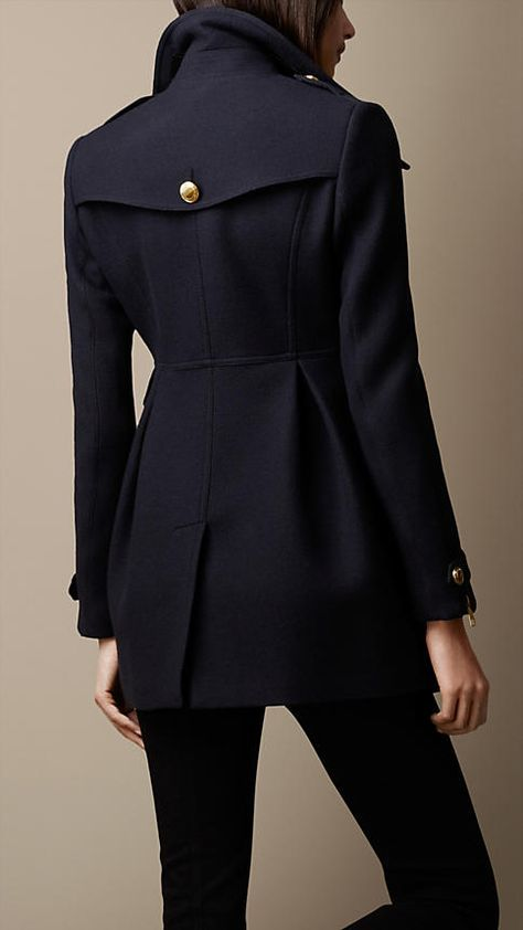Fitted Military Coat | Burberry
