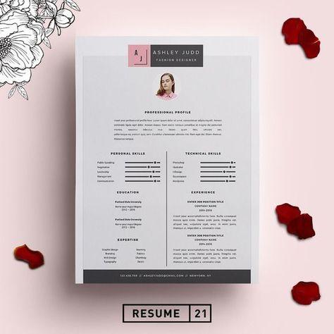 cool Fashion Designer Resume Template \/CV CreativeWork247 - Fonts - fashion designer resume template