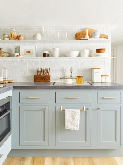 5 Kitchen Cabinet Colors Set To Take, Popular Kitchen Cabinet Colors 2020