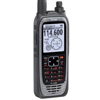 Icom A25n Vhf Air Band Nav Com Gps Radio With Bluetooth Pilotshop Gps Radio Aviation