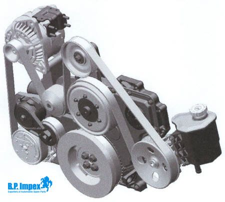 How To Replace A Car S Serpentine Belt Car Alternator Alternator Car Engine