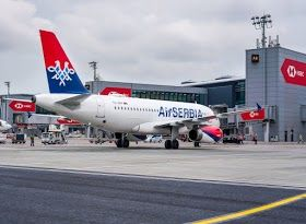 Ex Yu Airports Seek Zagreb Connecitivty Air Serbia Aircraft Serbia