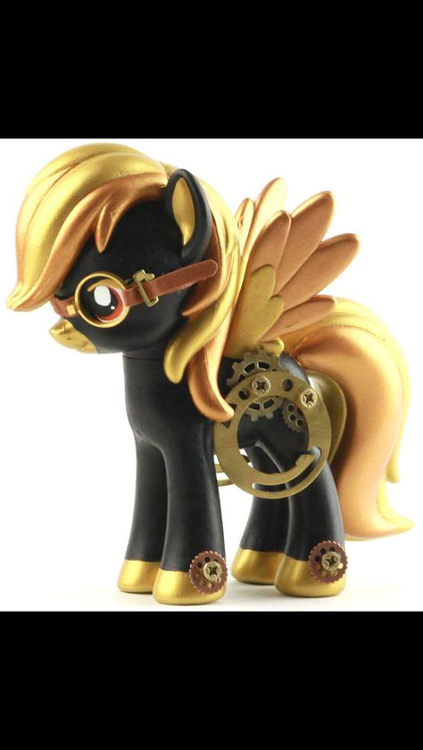 My Little Pony Steampony Custom Designer Toy by UnicornKiddoArt, $130.00