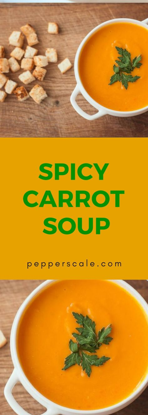 Fresh carrot flavor with cayenne and ginger kick…#spicyfood #hot