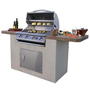 Weber Summit S 660 6 Burner Built In Natural Gas Grill In Stainless Steel With Grill Cover And Built In Thermometer 7460001 The Home Depot Outdoor Kitchen Appliances Outdoor Kitchen Design Natural Gas Grill