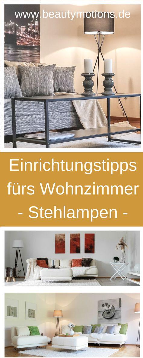 GroBartig Einrichtungstipps Mit Stehlampen Fürs Wohnzimmer U2013 Deko Tipps Für Couch  Sofa Kissen U2013 Einfach Und Preiswert