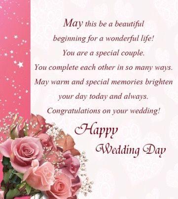 Pin By Patrick Nina Jasinskas Apholz On Wishes Engagement Wedding Anniversary Milestones Etc Wedding Congratulations Quotes Wedding Wishes Quotes Wedding Card Messages