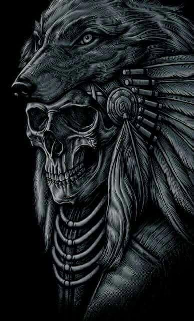 Avatar Objets Symboles etc 58a36604fa23c2822208eaa51f85e85b--skull-sleeve-tattoos-tattoo-indian