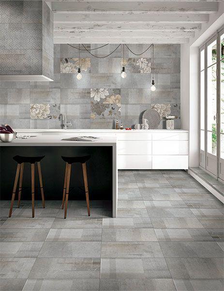 Kajaria Glazed Porcelain Tile Modern And Contemporary Tiles In A Natural Stone Finish Kitchen Tiles Design Elegant Tile Flooring Floor Tile Design