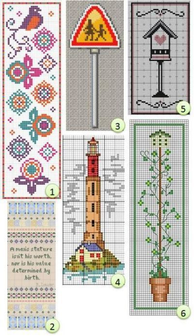 Free Bookmark Cross Stitch Patterns Cross Stitch Bookmarks