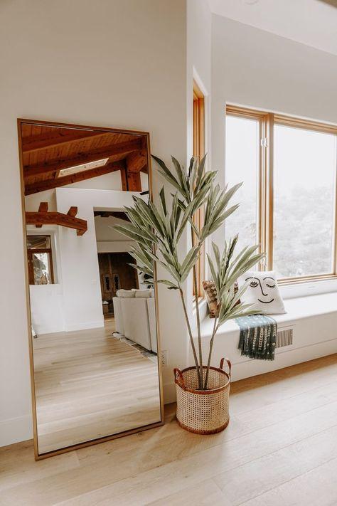mid century and boho home #style #interiors