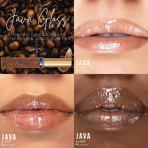 LipSense® Java Gloss from the LipSense® Café Collection - Independent LipSense/SeneGence Distributor #348931 swakbeauty.com @swakbeauty