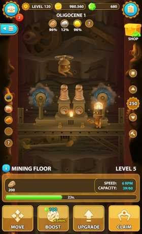 Deep Town: Mining Factory is a Strategy Game for android download