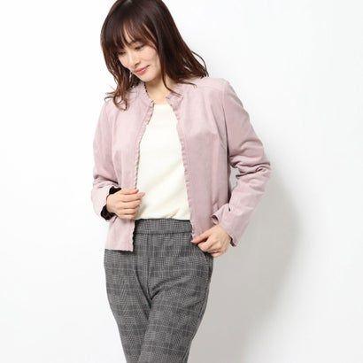 リネーム rename ウルトラスエードジャケット ピンク スエードジャケット ファッションアイデア ジャケット