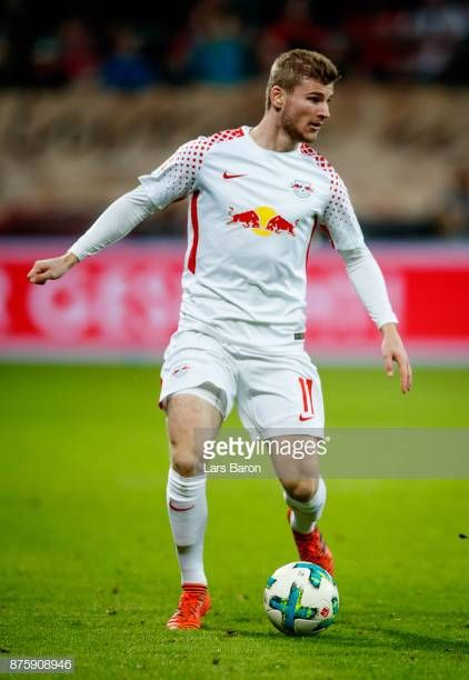 Timo Werner Of Leipzig Runs With The Ball During The Bundesliga Match Running Leipzig Rb Leipzig