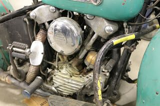 1947 Harley Davidson Fl On Display At The 2019 Idaho Vintage Motorcycle Show Caldwell Vintage Motorcycle Harley Davidson Motorcycle Engine