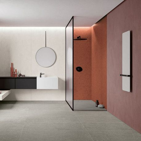 Mosaique Mix Sol Et Mur Hexagonale Rouge Rusty Red 30x30 Cm En 2020 Sol Et Mur Carrelage Mosaique Carrelage Blanc