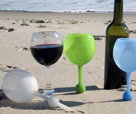 Hebben! Deze wijnglazen blijven drijven!