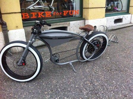 Ocobike Custom E Bike Ocobike Beach Cruiser Velo Shop Neuchatellowriders Bikeschoppers Bikescustom Velo Kruzrs Pinterest Chopper Bike And