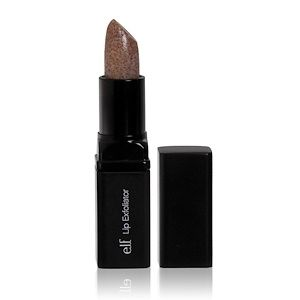 E L F Cosmetics Studio Lip Exfoliator Clear Brown Sugar 0 16 Oz 4 4 G Lip Exfoliator Chapped Skin Exfoliating