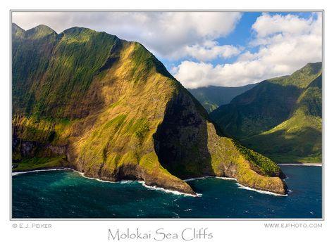 Molokai Sea Cliffs, Molokai, Hawaii